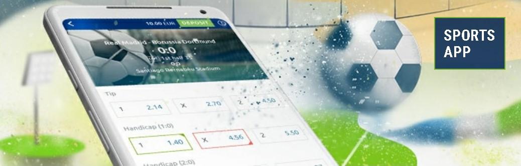Betathome sports app