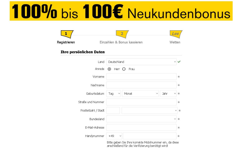 Interwetten register