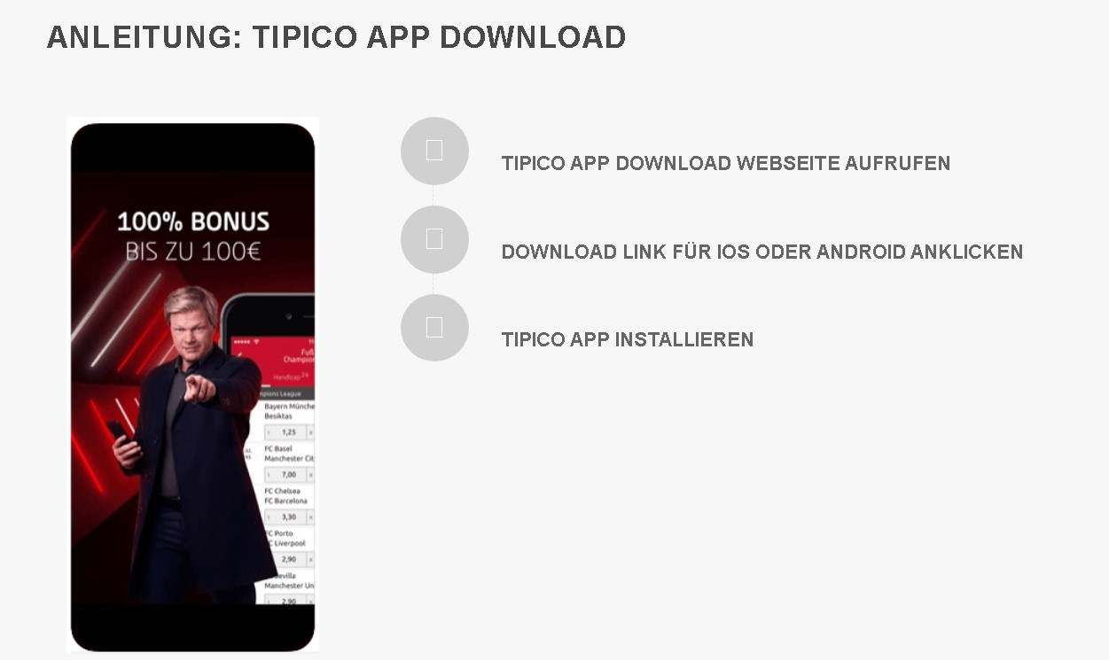 Tipico app download