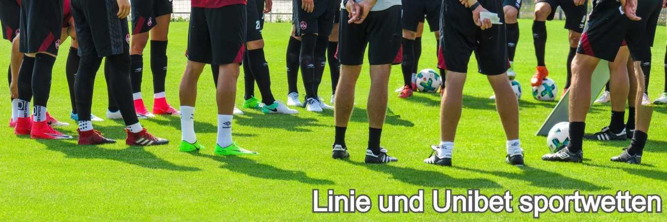Linie und Unibet sportwetten